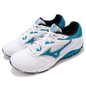 Mizuno 慢跑鞋 Wave Surge 白 藍 足弓入門款 舒適緩震 運動鞋 男鞋【PUMP306】 J1GC1713-27