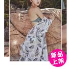 【18087-2-0509】新款性感雪紡罩衫(M.L.XL)