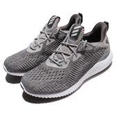 adidas 慢跑鞋 AlphaBounce EM W 灰 白 舒適緩震 女鞋 運動鞋【PUMP306】 BW1194
