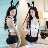 情趣內衣兔女郎夜店制服誘惑性感露乳緊身露背可愛貓女服套裝風情【快速出貨八折優惠】