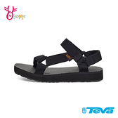 TEVA童鞋 男女童涼鞋 經典織帶涼鞋 ORIGINAL UNIVERSA 大童 運動涼鞋 休閒涼鞋 J6771#黑色