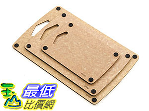[美國直購] Epicurean B0134QWOPU 砧板 Prep Series Nonslip Cutting Boards, Natural 美國製 三件裝