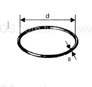 《德製》 反應槽用 O-Ring 德製 O-Ring