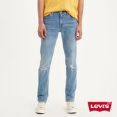 Levis 男款 511低腰修身窄管牛仔褲 / 貓鬚破壞 / FLEX雙向超彈力布料 / Lyocell天絲棉