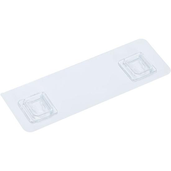 透明貼片 無痕貼 現貨 掛架 掛勾 掛鉤 黏膠 收納架 掛架無痕透明貼片【H002】米菈生活館