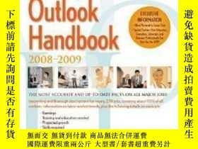 二手書博民逛書店Occupational罕見Outlook Handbook 2008-2009 (paperback)-2008