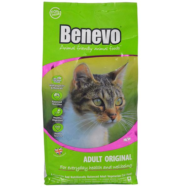 英國Benevo機能性純素貓飼料2kg 頂級素食貓糧 Vegan 含植物源牛磺酸 螺旋藻 營養配方 限時送
