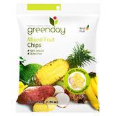 Greenday蔬果脆片55g 日華好物 內含波羅蜜、芋頭、鳳梨、香蕉、番薯