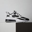 Nike Air Max 270 React 男鞋 白黑 簡約 氣墊 避震 慢跑 休閒鞋 CT1646-100
