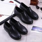雨鞋 防水膠鞋套鞋水鞋廚師廚房專用工作男鞋耐磨低幫 QX5022【棉花糖伊人】