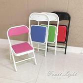 休閒椅 小椅子兒童坐凳寶寶矮椅子靠背椅羅門摺疊學習幼兒園 果果輕時尚NMS