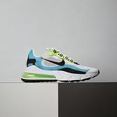 Nike Air Max 270 React SE 男鞋 綠藍 氣墊 避震 舒適 簡約 休閒鞋 CT1265-300