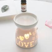 蠟燭熏香檀香爐陶瓷空氣凈化精油熏香粉香薰爐香薰燈