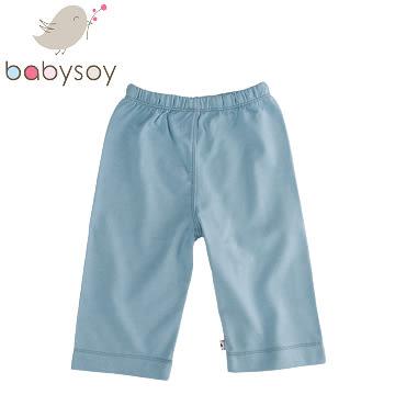 美國 [Babysoy] 時尚百搭彈性長褲126-海洋藍