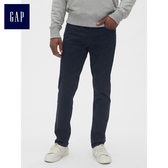 Gap男裝 柔軟修身彈力牛仔長褲 492725-經典海軍藍