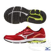 MIZUNO美津濃 INSPIRE12 Jr. 支撐型童鞋(紅*銀)