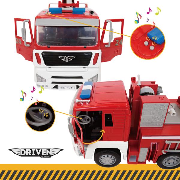 B.TOYS巨無霸消防車_Driven系列-WH1001Z