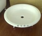 【麗室衛浴】獨立式鑄鐵圓型淋浴底座 1041*192mm