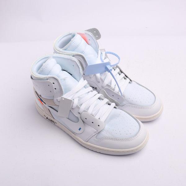 OFF-WHITE x Air Jordan 1 AJ1 OW 芝加哥 純白