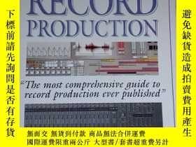 二手書博民逛書店the罕見art of record productionY18