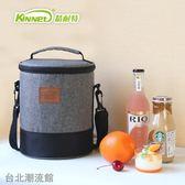 草莓圓形飯盒袋 女生日本便當包加厚保溫袋保冷保溫包