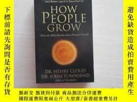 二手書博民逛書店How罕見People Grow 人是如何成長的 396Y109