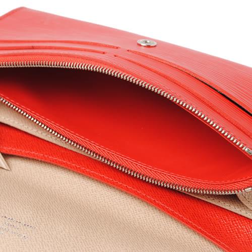 茱麗葉精品 全新精品Louis Vuitton LV M60852 EMILIE新款 EPI 雙色皮革壓紋多功能長夾.紅(預購)
