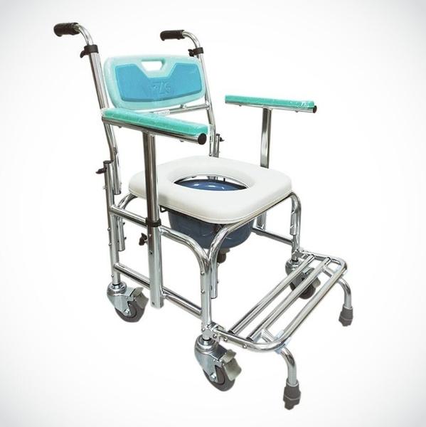 來而康 FZK-4306 鋁合金扶手升降防傾 便椅