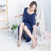 現貨 MIT特色女鞋推薦 花卉公主 特殊立體皺摺 粗跟高跟鞋 尖頭方跟鞋  21-25.5 EPRIS艾佩絲-奶茶裸