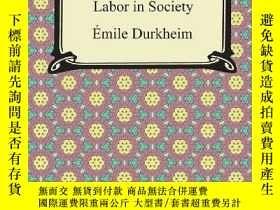 二手書博民逛書店The罕見Division Of Labor In SocietyY256260 Emile Durkheim