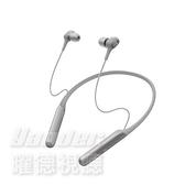 【曜德★新上市】SONY WI-C600N 銀色 磁吸式 藍牙無線 降噪入耳式耳機 續航力6.5 HR / 送收納袋