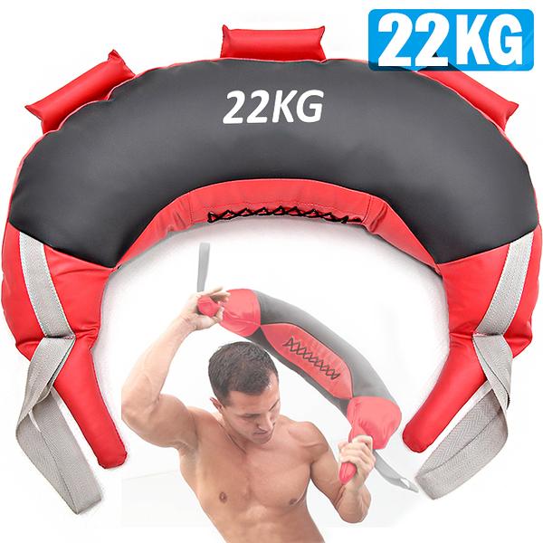 22KG保加利亞訓練袋負重包健身袋抓舉甩包力量體能訓練深蹲爆發力核心肌群運動健身器材哪裡買ptt