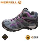 【MERRELL 美國 女 YOKOTA SPORT MID GORE-TEX登山鞋《鐵灰/紫》】ML035740