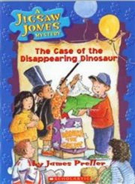 Jigsaw Jones #17: The Case of the Disappearing Dinosaur (書+CD)