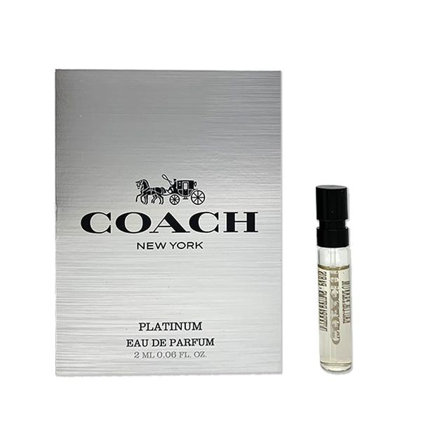 COACH 紐約白金男性淡香精針管 2ml