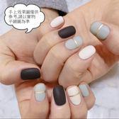 現貨~ YW-241 磨砂燙金美甲貼紙防水環保全貼手指甲孕婦甲油膜