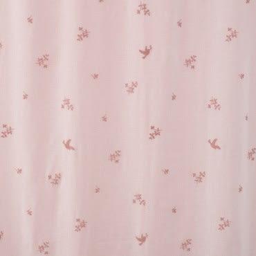 HOLA 粉漾雙層抗UV落地窗簾 粉 270x230cm