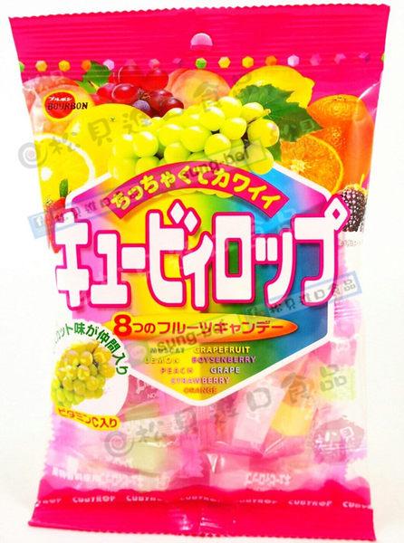 《松貝》北日本什錦8種水果糖144g【4901360273126】ca15