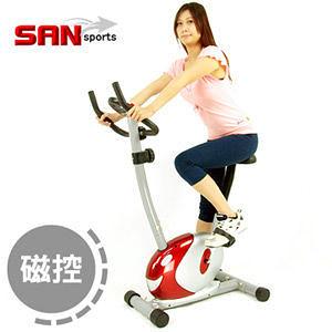 小鯨魚磁控健身車.室內腳踏車.美腿機.運動健身器材.推薦哪裡買專賣店【SAN SPORTS】