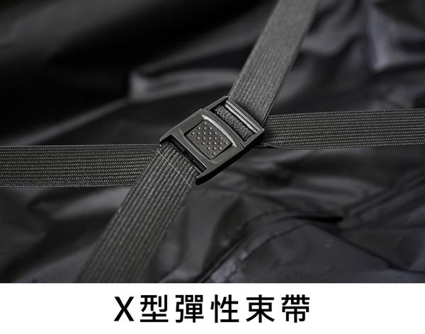 KANGOL- 英國時尚 百搭經典拉鍊可擴充 旅行箱/行李箱-20吋 黑