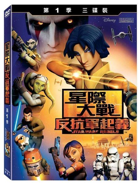 星際大戰 反抗軍起義 第1季 DVD(購潮8)
