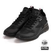 Palladium 新竹皇家 AX EON 黑色 織布 套入式 休閒鞋 男女款 NO.A9954-I9035