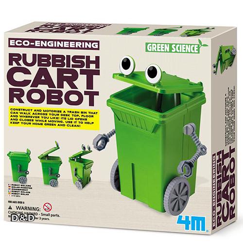 《4M科學探索》回收小尖兵 Rubbish Cart Robot ╭★ JOYBUS玩具百貨