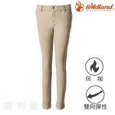 荒野 WILDLAND 女款彈性全鬆緊帶時尚合身褲 0A72315 卡其色 休閒褲 彈性褲 內搭褲 OUTDOOR NICE