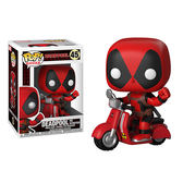 Funko POP!系列 Q版 Marvel漫威英雄 Deadpool 死侍 騎摩托車 45