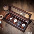 手錶盒收納盒木質錶盒首飾手串展示盒木盒簡約錶箱手錶收藏盒子  中秋鉅惠