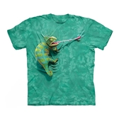 【摩達客】(現貨)美國進口The Mountain 攀岩變色龍 純棉環保短袖T恤(10415045077)