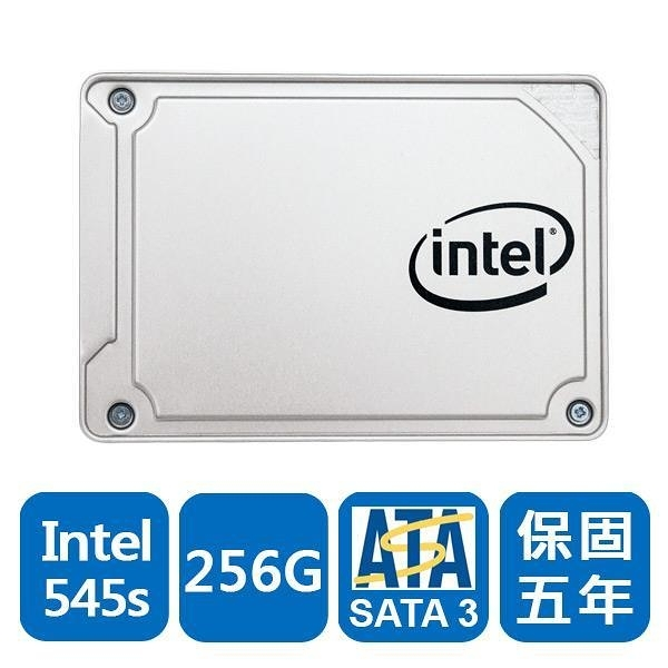 Intel 545s-SSDSC2KW256G8XT 256GB 2.5吋 固態硬碟