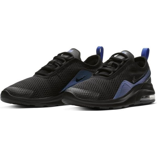 NIKE AIR MAX MOTION 2 女鞋 大童 慢跑 休閒 氣墊 黑 藍 【運動世界】 AQ2741-005