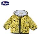 chicco-城市噗噗車-滿版輕薄雙面防風外套